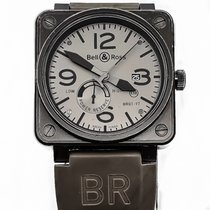 Bell & Ross Steel 46mm Automatic BR 01-97 pre-owned