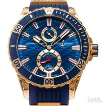 Ulysse Nardin 44mm Automatic new Diver Chronometer Blue