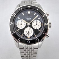 TAG Heuer pre-owned Automatic 42mm Black Sapphire Glass 10 ATM
