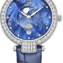Harry Winston Premier White gold 36mm Mother of pearl No numerals