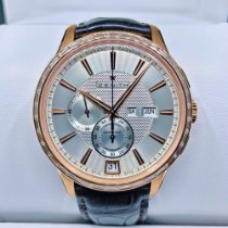 Zenith Rose gold Automatic Silver No numerals 42mm new El Primero Winsor Annual Calendar