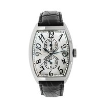 Franck Muller Master Banker White gold Silver Arabic numerals United States of America, Connecticut, Greenwich