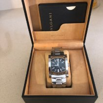 Bulgari aa 48 s ch Steel 2006 Assioma 38mm pre-owned