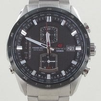 Casio Edifice Zeljezo 43mm Crn
