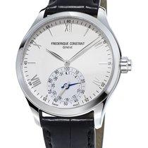 Frederique Constant Horological Smartwatch Steel 42mm White Roman numerals