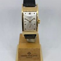 Patek Philippe Vintage Yellow gold 20mm Silver United States of America, California, SAN DIEGO