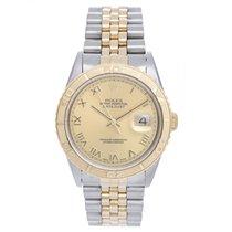 Rolex Datejust Turn-O-Graph Acero y oro 36mm Romanos