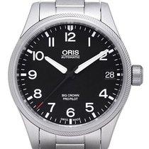 Oris Big Crown ProPilot Date 01 751 7697 4164-07 8 20 19 2019 new