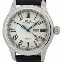 Ball Zeljezo 40mm Automatika NM1058D-L4J-WH nov