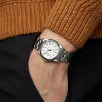 Rolex Oyster Perpetual Date Zeljezo 34mm Bjel Rimski brojevi