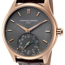 Frederique Constant Horological Smartwatch Gold/Steel 42mm Grey