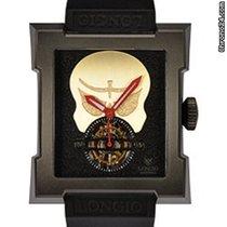 Longio 38.4mm Manual winding 2014 pre-owned Black