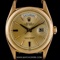 Rolex 18k R/G O/P Champagne Dial Vintage Day-Date Gents 6611B