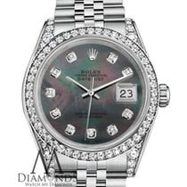 Rolex Lady-Datejust Steel 26mm Black United States of America, New York, New York