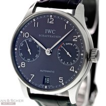 IWC Portugieser Automatic 7-Days Ref-IW500106 18k White Gold...