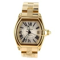 Cartier Roadster Yellowgold Reference 2524 Unisex Size 44 x...