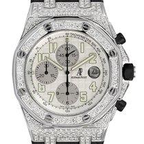 Audemars Piguet Royal Oak Offshore 42mm Diamond Set with White...