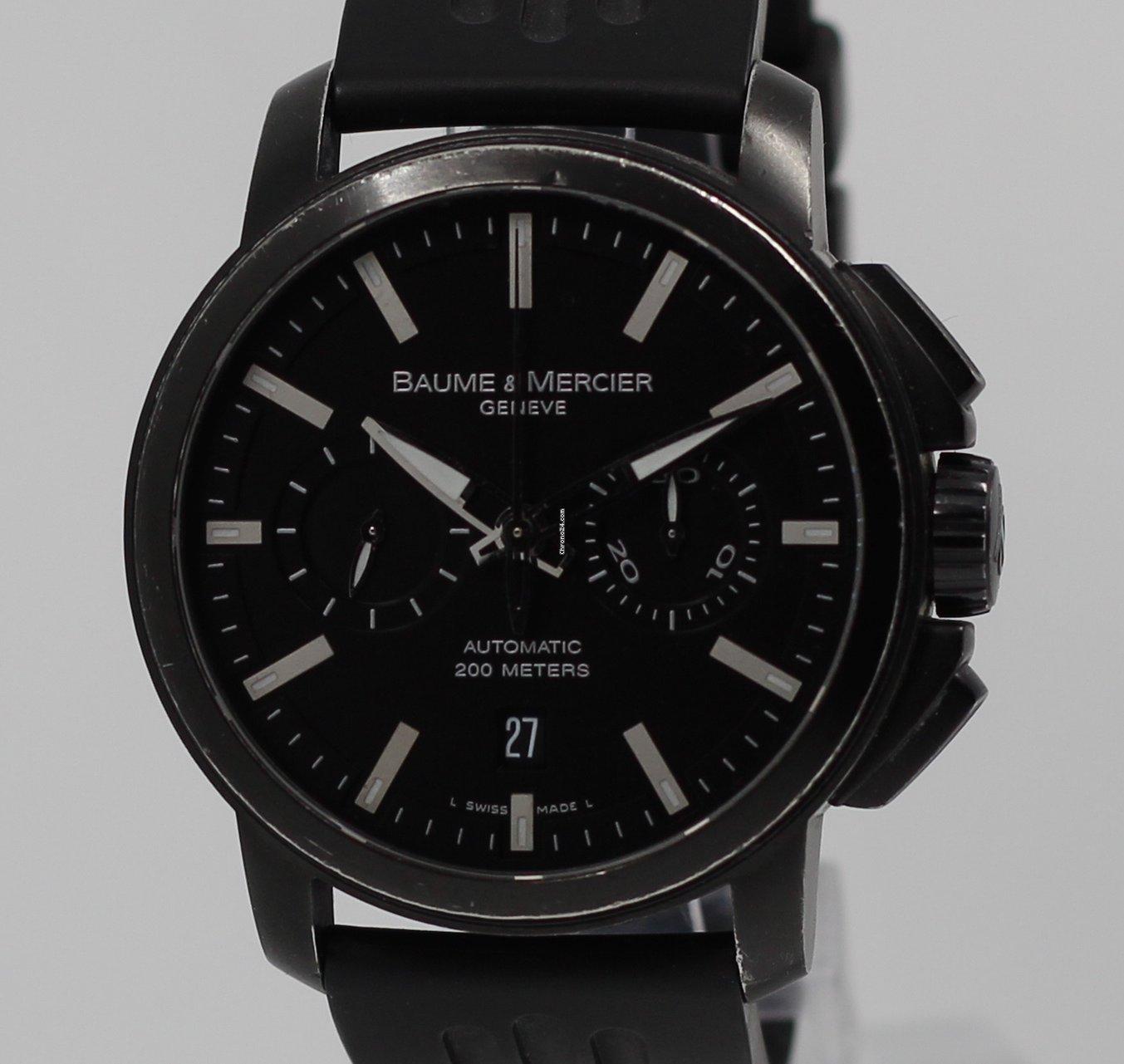 Baume & Mercier Classima XXL Chronograph Black Steel