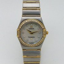 Omega Constellation 95 Small Mop Diamonds 1277.75.00