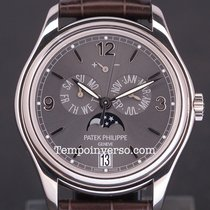 Patek Philippe Annual Calendar white gold slate grey dial full...