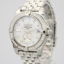 Breitling Galactic 36 A37330531A1A1 Nieuw Staal 36mm Automatisch