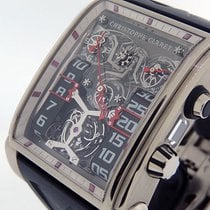 Christophe Claret Aur alb 48.2mm Armare manuala OGO.21.CC20A.O 20th Anniversary Piece Unique folosit