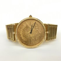 Corum 35mm Quartz pre-owned Coin Watch Gold