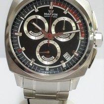 Marvin Malton Cushion Chronograph Mens Watch 1 Year Warranty