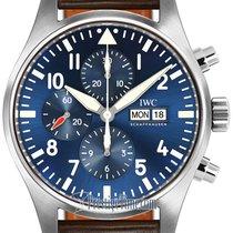 IWC Pilot Chronograph новые Автоподзавод Хронограф Часы с оригинальной коробкой