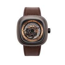 Sevenfriday P2-1 Steel 47mm Brown