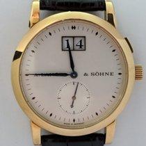 A. Lange & Söhne Žluté zlato Ruční natahování použité