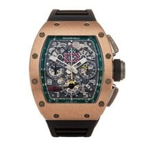 Richard Mille 42mm Automatic RM011 AJ RG pre-owned