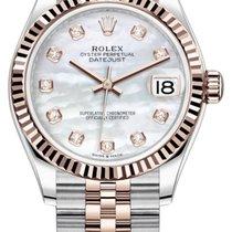 Rolex Datejust Or/Acier 31mm Nacre