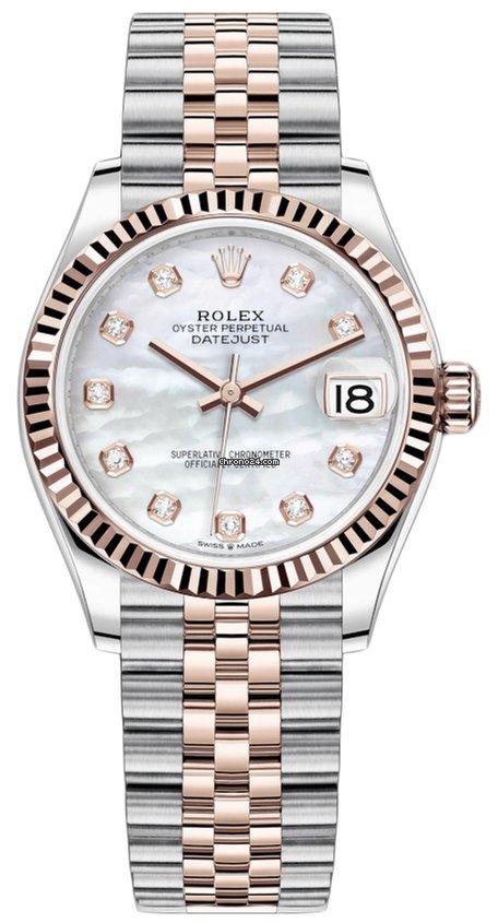 Rolex Datejust 278271 MOP Diamond Jubilee 2021 new