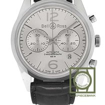 Bell & Ross Acero 41mm Automático BRG126-WH-ST/SCR nuevo