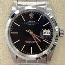Rolex Oyster Perpetual Date Staal 34mm Zwart Geen cijfers Nederland, Rotterdam