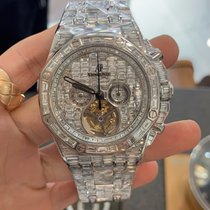 Audemars Piguet Royal Oak Tourbillon White gold 44mm No numerals