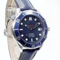 Omega Seamaster Acero 41mm Azul