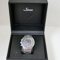 Sinn 157 Steel 40mm Black No numerals