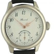Zeno-Watch Basel Acero 50mm Cuerda manual 1460 nuevo