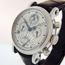 Franck Muller Platinum Automatic Silver 36mm pre-owned