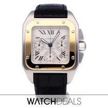 Cartier Santos 100 W20091X7 2015 подержанные