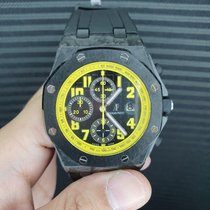 Audemars Piguet Carbon Automatic Black Arabic numerals 42mm pre-owned Royal Oak Offshore Chronograph