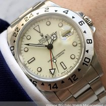 Rolex Explorer II 16570 DATE DATUM VINTAGE CREAM DIAL 1992 używany