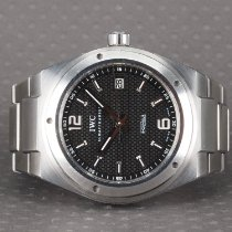 IWC Steel Automatic Black Arabic numerals 42mm pre-owned Ingenieur AMG