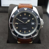 Aristo Steel 42mm Automatic 4H182 new