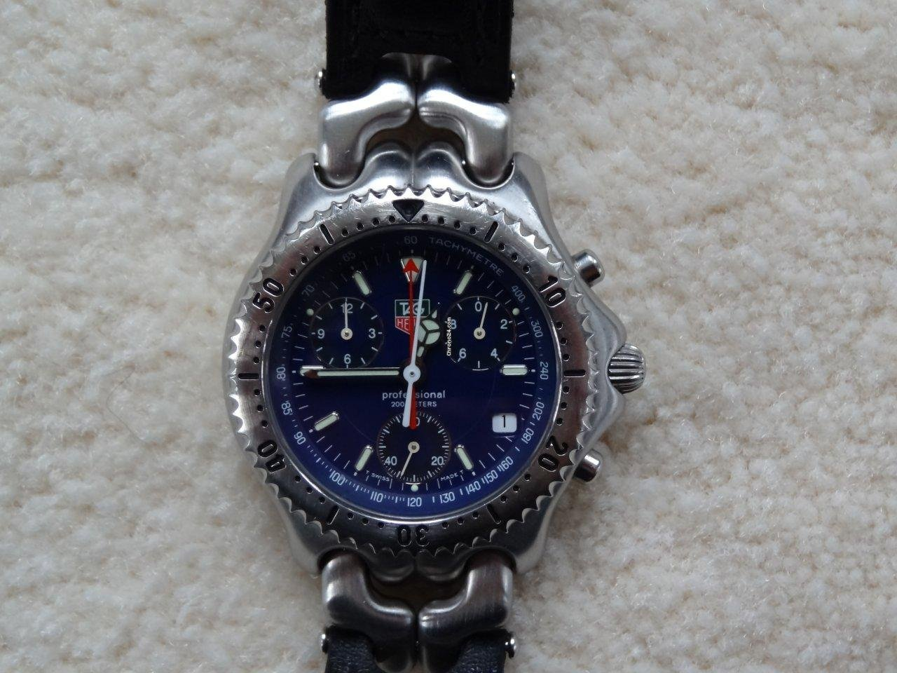 This Tag: TAG Heuer SEL LINK S/EL Chronograph With Extremly Rare