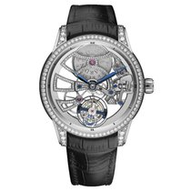 Ulysse Nardin Classic Skeleton Tourbillon White gold 44mm