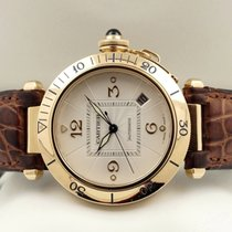 Cartier Pasha Yellow Gold Depl. Clasp 18 krt / 38 mm (Full Set)