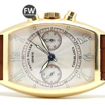 Franck Muller Casablanca Yellow gold 32mm White Arabic numerals